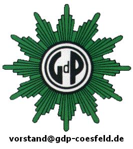 Impressum GdP-Stern